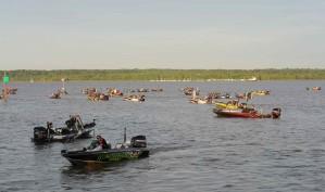 bateaux à moteur, transport, participants, tournoi