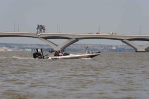 rapide, moteur, bateau