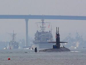 sous-marins, sous-marins, le nucléaire, les navires, la marine
