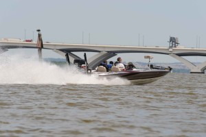 rapide, rapide, moteur, bateau, course