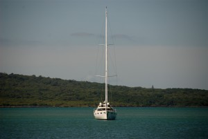 yacht, ancre, cheltenham, plage