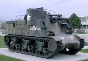 priest, self, propelled, millimeter, howitzer, tank