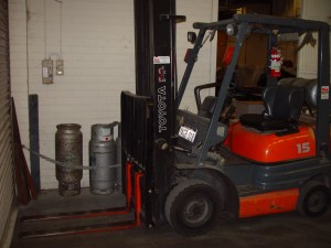 toyota, forklift, vehicle