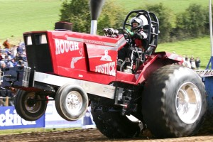 race, fast, tractor