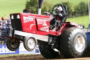course, rapide, tracteur