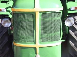 tractor, hood