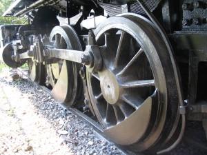 Dinky, vapeur, moteur, principal, route, roue