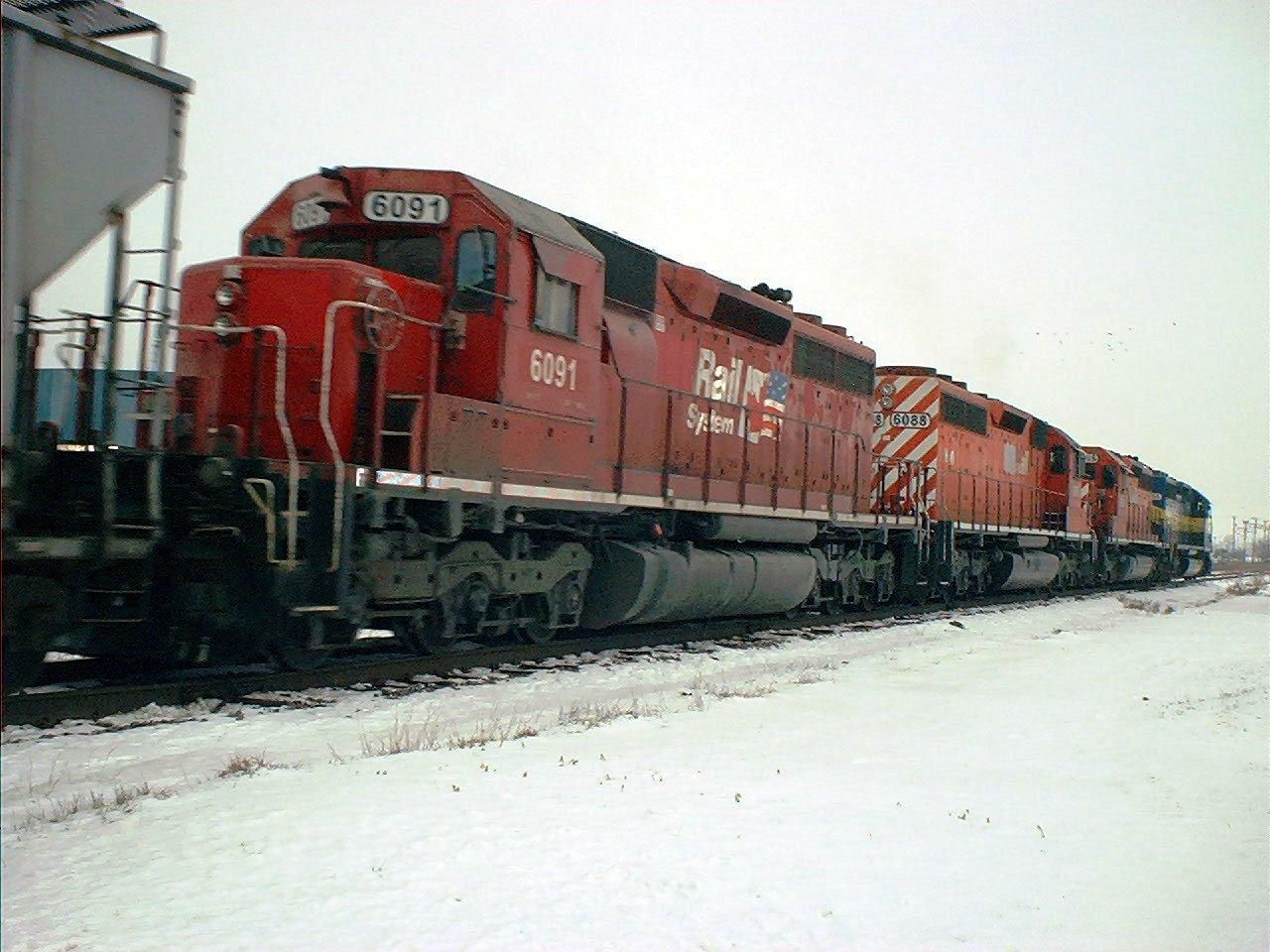 Fotos de trenes de carga 7