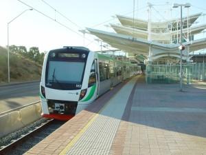 new, rail, cars, stirling, station