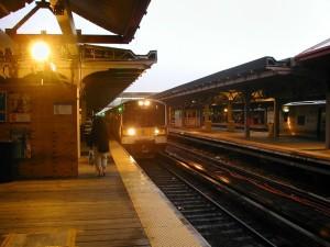 stazione, ferrovia, strada