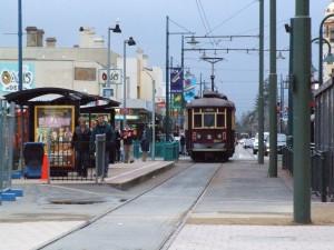 tranvía, Glenelg, Adelaide, Australia
