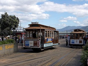 trolley, cars
