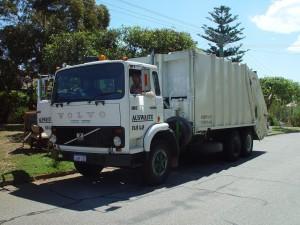 odpadky, truck