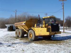 loader, truck