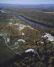 aérea, nacional, la conservación, la formación, centro, NCTC, el campus