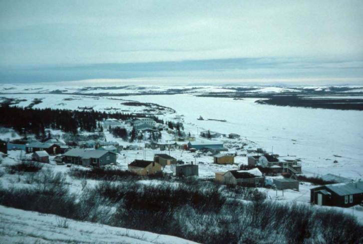 andreafsky, rivière, petite ville