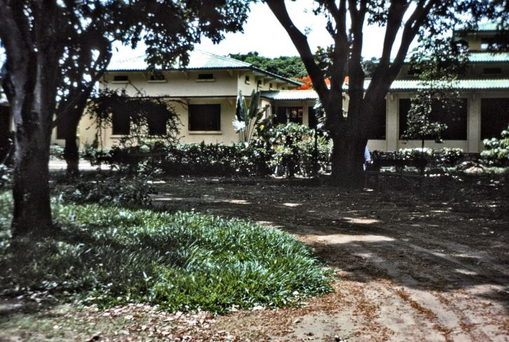 zurück, Pavillon, Ngaliema, Krankenhaus, Kinshasa, Zaire