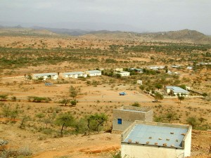 Gebäude, auf dem Dorf, Eritrea, Afrika