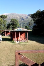 cabinas, de base, Santa, volcán, San Salvador, reformado