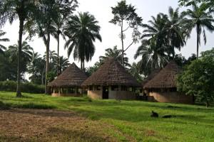 clasă, Lusakela, agricultură, gara, Republica Democrată Congo, Africa