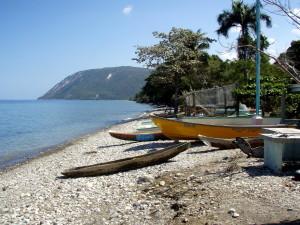 coastal, village