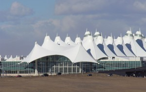 denver, international, aéroport