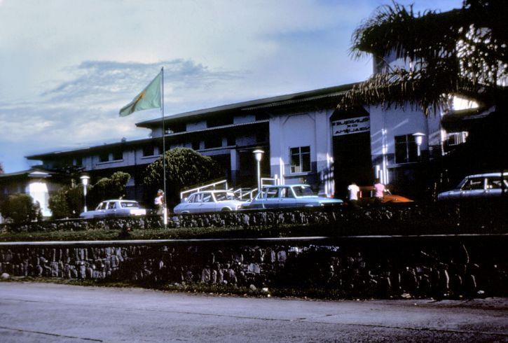 Front, Ngaliema, Krankenhaus, Kinshasa, Zaire, Nationen, Hauptstadt