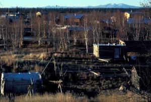 huslia, landsby