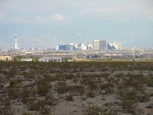 Vegas, deserto, città