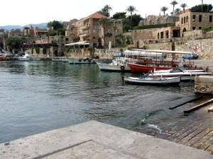 Libanon, historisch, Byblos, Hafen