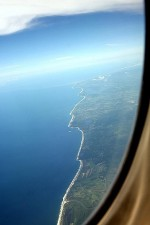 vypadající, pobřeží, Acapulco