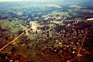 vistas, Yambuku, Zaire