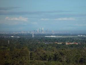 Perth, city, distance