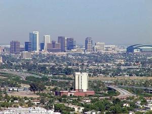 Phoenix, town, skyscrapers