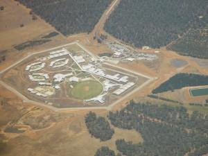 prison, centre, est, Perth, dans l'ouest, l'Australie