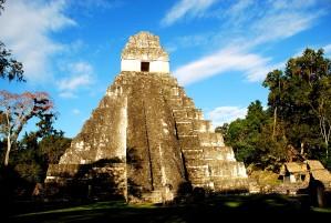 促进、可持续、旅游、古、玛雅、遗址