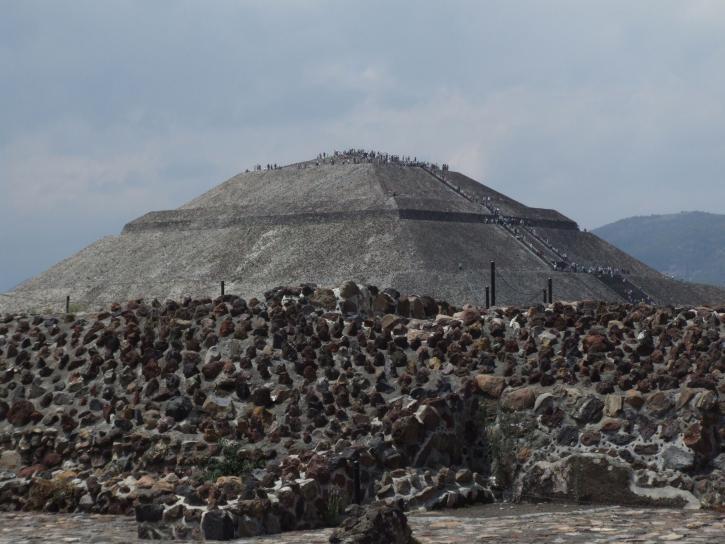 pyramide, Teotihuacan