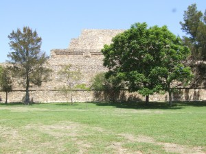 ruines, monte, alban