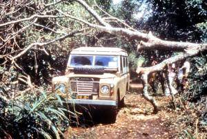 la surveillance, les équipes, les voyages, jeep, Zaïre, République démocratique du Congo