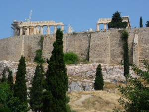 Parthenon, ancient, Greek, temple