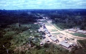 village, Zaire
