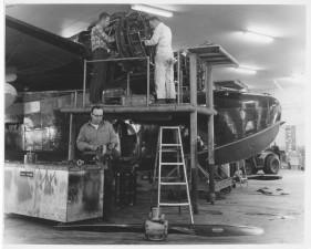 aircraft, maintenance, vintage, photo