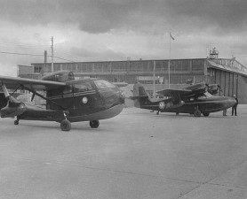 aircrafts, landed, vintage, photography