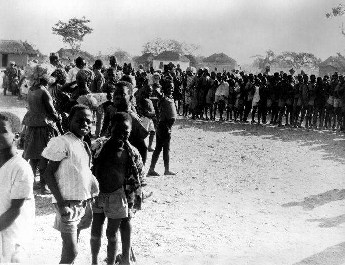 Niger, zapadnoj Africi, male boginje, iskorjenjivanje, ospice, kontrola programa