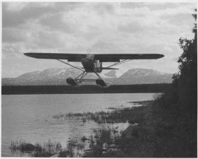 cub, floatplane, air, vintage, photo