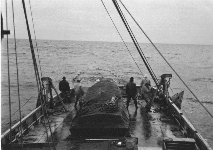 verkennende visserij, oude, historische, fotografie