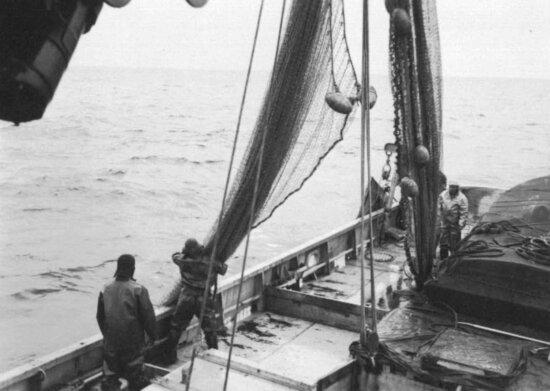 fishing, open, sea, history, photo