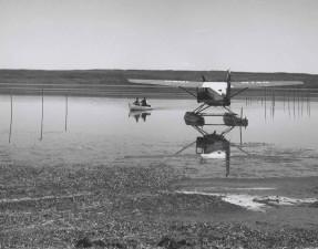 flotador, avión, aviones, agua, historia, foto