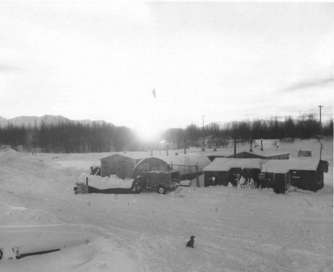 hangar, installations, Anchorag