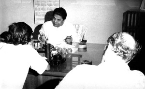 Bangladesh, secretaries, health, sitting, desk, meeting